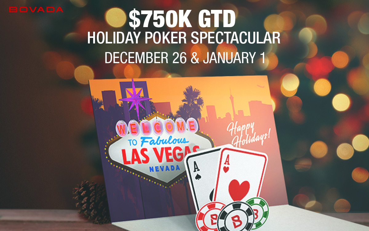 $750k GTD Holiday Poker Spectacular