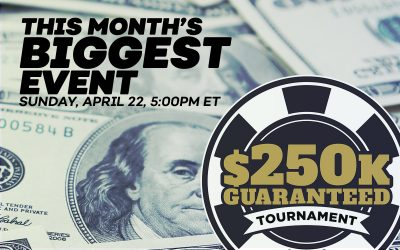 Online Poker Tournament - Bovada $250K GTD Tournament